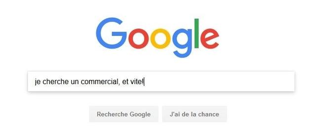 Trouver des CV sur Google