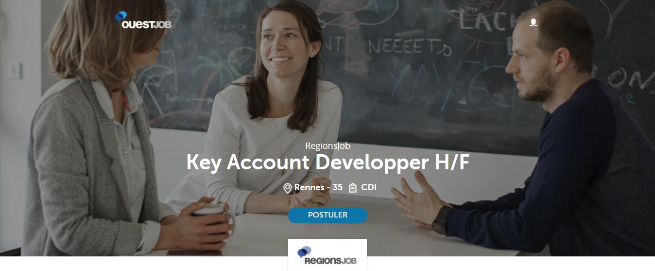Annonce Key account Developper RegionsJob