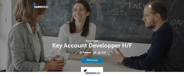 Annonce Key account Developper RegionsJob