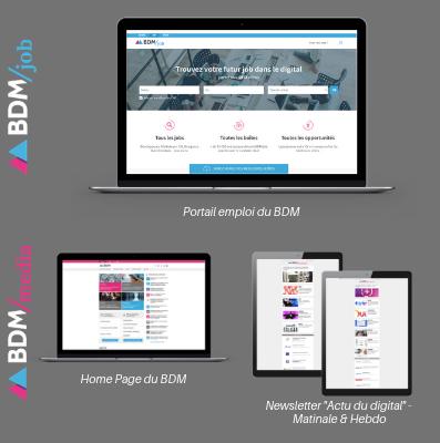 déposer une offre d'emploi digitale sur BDM