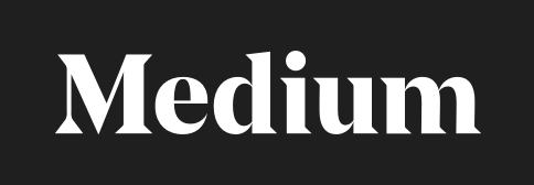 Logo de la plateforme de blogging Medium