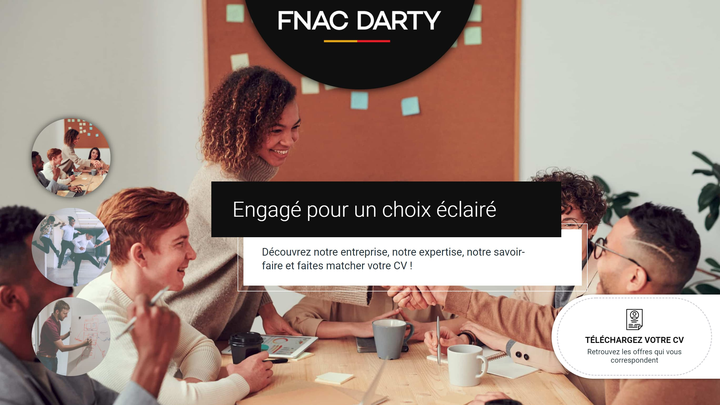 Site carrière - FNAC Darty - carrieres.fnacdarty